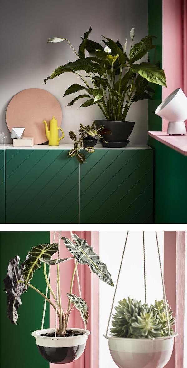 Wohnr ume mit pflanzen dekorieren ikea ikea for Ikea kunstliche pflanzen