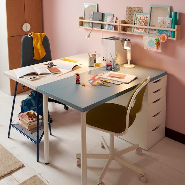 Два модульных стола АЛЕКС