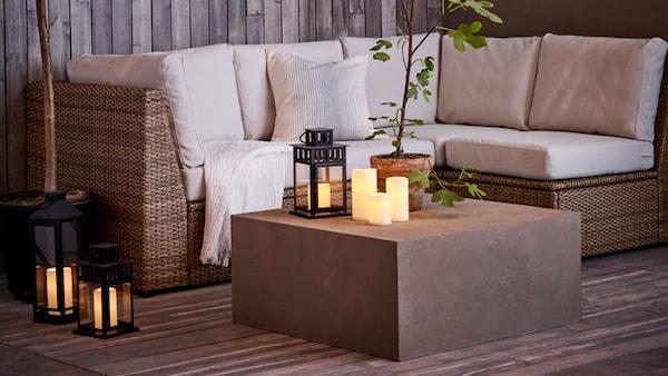 Awe Inspiring Patio Furniture Outdoor Accessories Ikea Interior Design Ideas Philsoteloinfo
