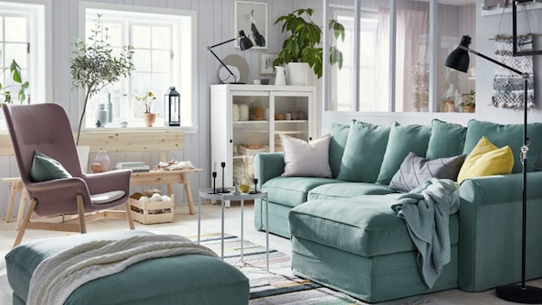 Serenity in an open living room