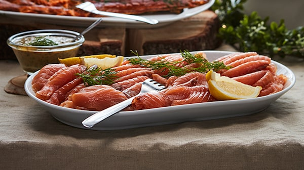 SJORAPPORT Sliced Salmon 200g 20% Off. Oct 1 – 31. While supplies last. In-store only.