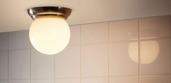 Link to Bathroom lighting products page