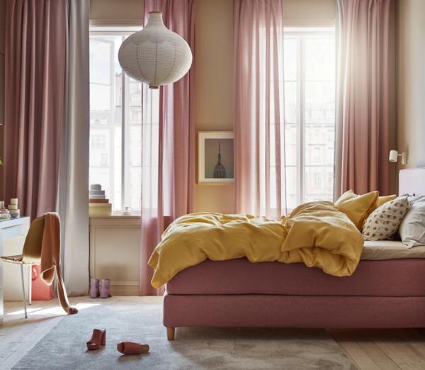 Spavaća soba u kojoj je lako slatko sanjati