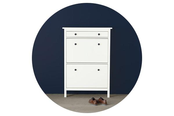 Серия мебели ХЕМНЭС для хранения одежды и обуви в прихожей