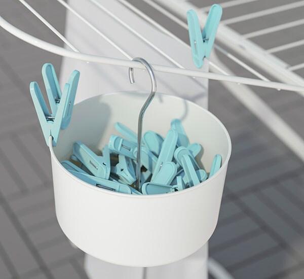 Прищепки ТОРКИС пригодятся, когда вы будете развешивать чистое после стирки белье