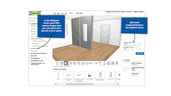 Getting Started With The Online Kitchen Planner Ikea