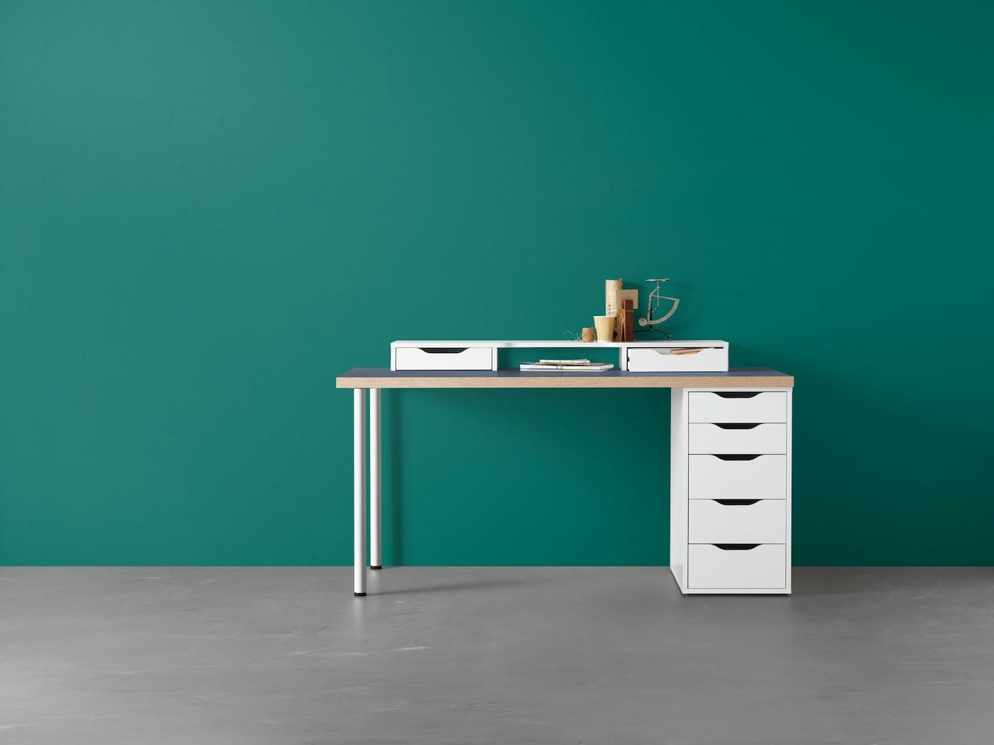 Schreibtisch-Konfigurator-IKEA