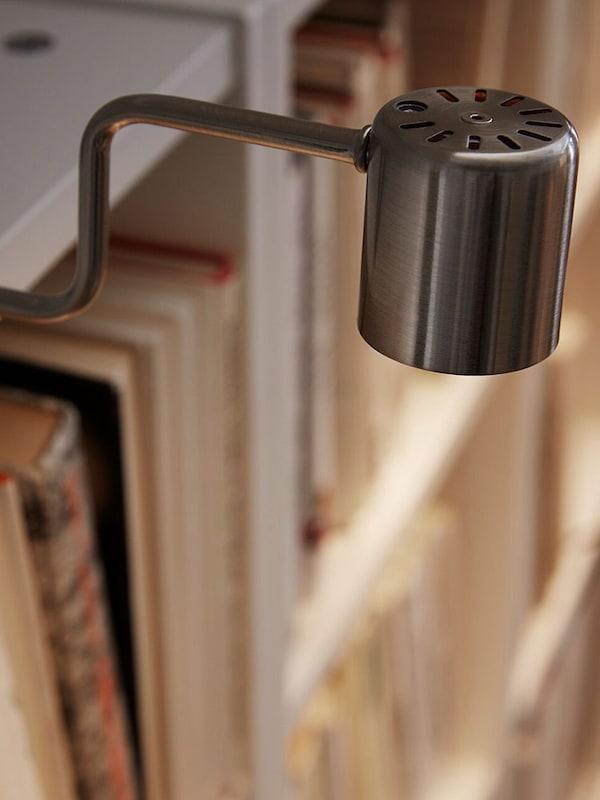 Éclairage intégré bibliothèque