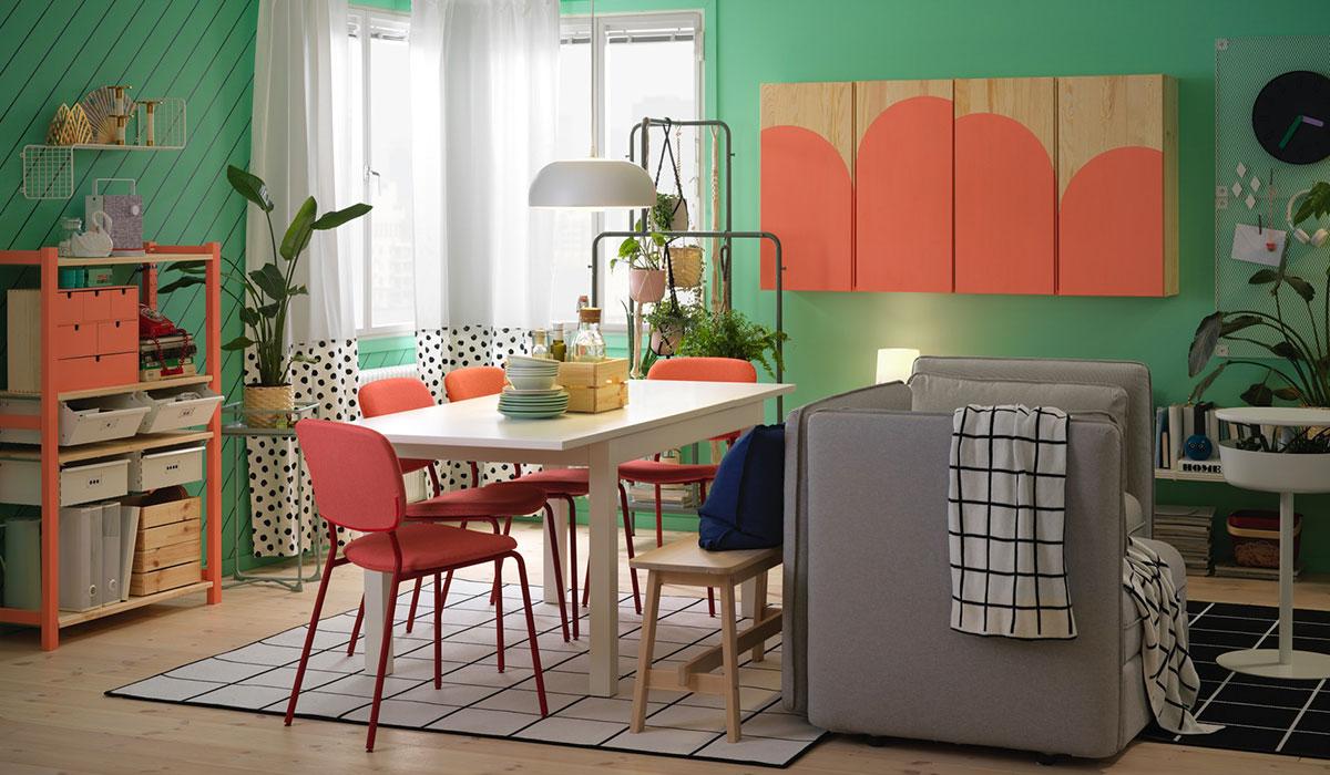 Idee Per Larredamento Per La Sala Da Pranzo Ikea Ikea