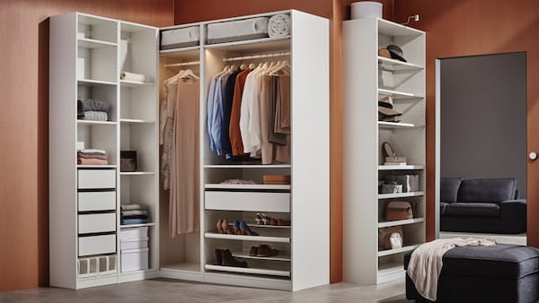 Bedroom Storage Solutions - IKEA