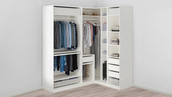 dressing ikea coin angle pax robe garde armoire kleerkast dressings ou avec une acheter cher pas