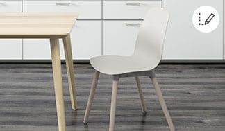 Konfigurator krzeseł LEIFARNE/SVENBERTIL