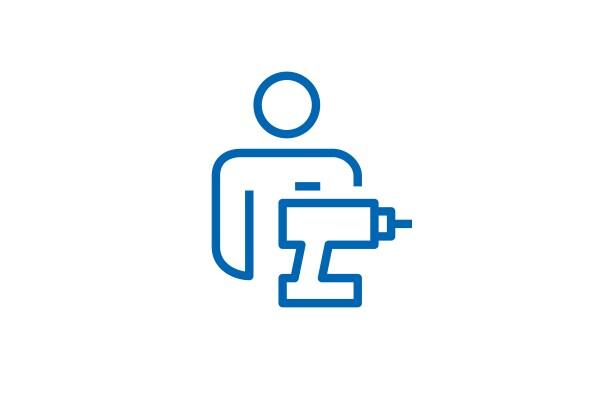 Pictogram för servicetjänster