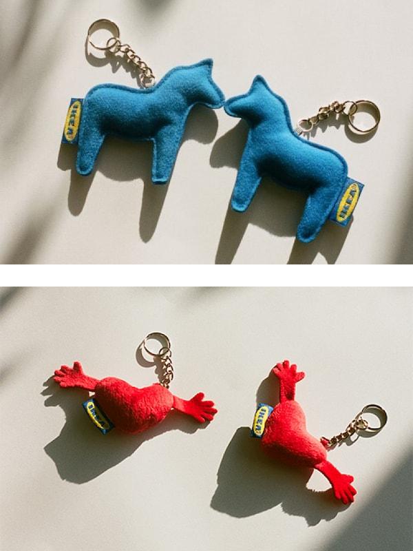 EFTERTRÄDA limited collection key ring