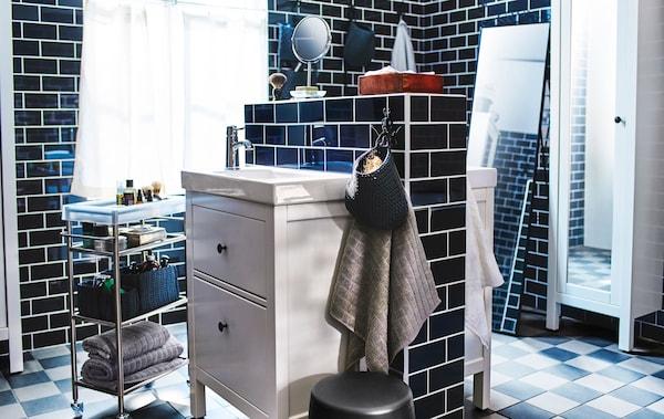 Wellness-Badezimmer mit Omm-Feeling - IKEA