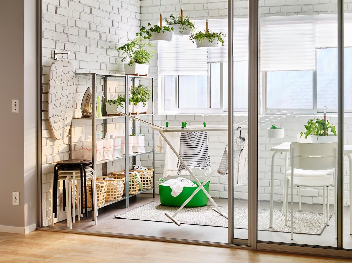 Mini Kühlschrank Für Ikea Regal : Waschküche inspirationen für dein zuhause ikea