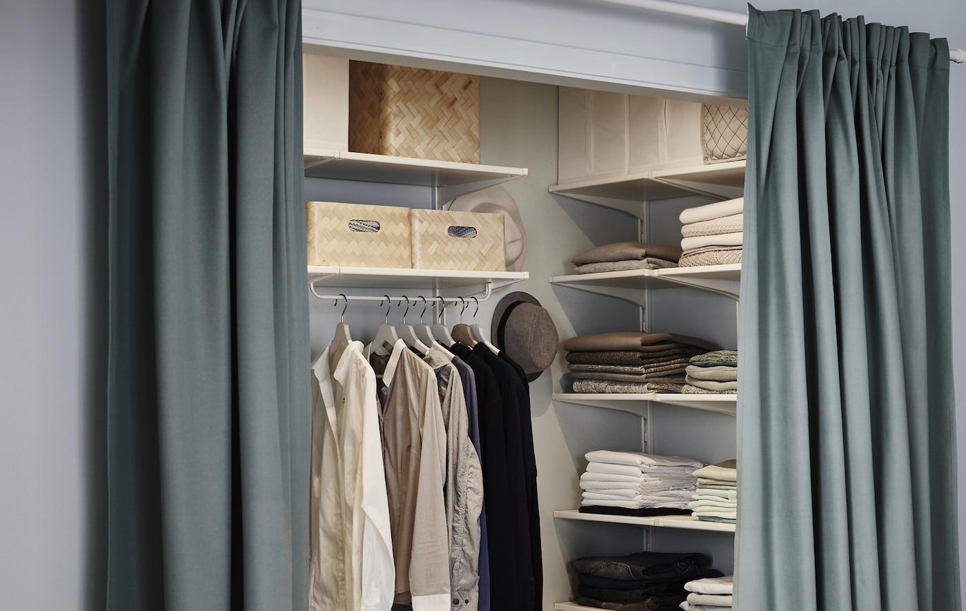 Begehbaren Kleiderschrank selberbauen   IKEA