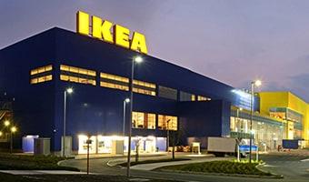Ein Bild eines IKEA Einrichtungshauses