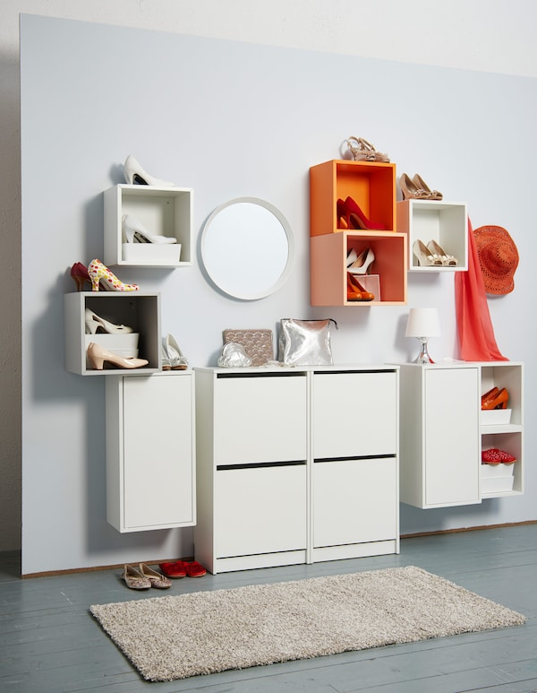 flur einrichten ideen f r mehr platz ikea. Black Bedroom Furniture Sets. Home Design Ideas