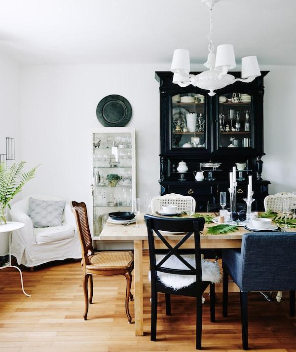 Tischdeko Gestalten Esstisch Dekorieren Ikea