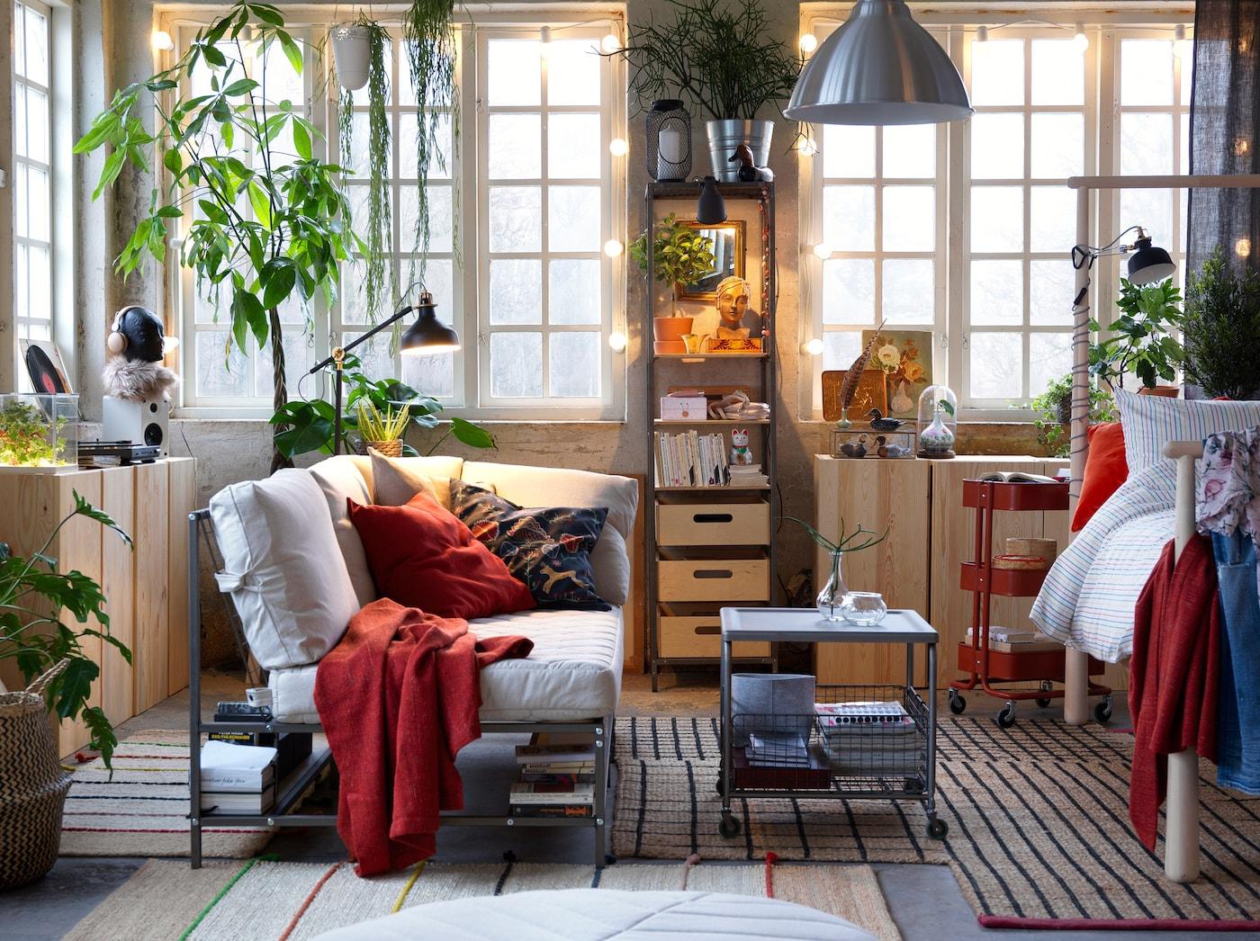 ein sofa zum komfortablen selbstgestalten ikea ikea. Black Bedroom Furniture Sets. Home Design Ideas