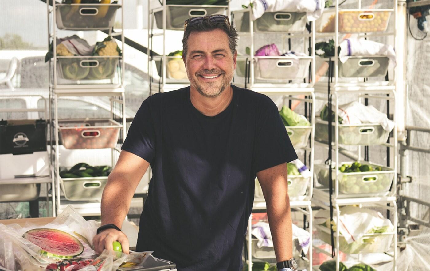 Ein Foto von Michael La Cour, Managing Director von IKEA Food Services