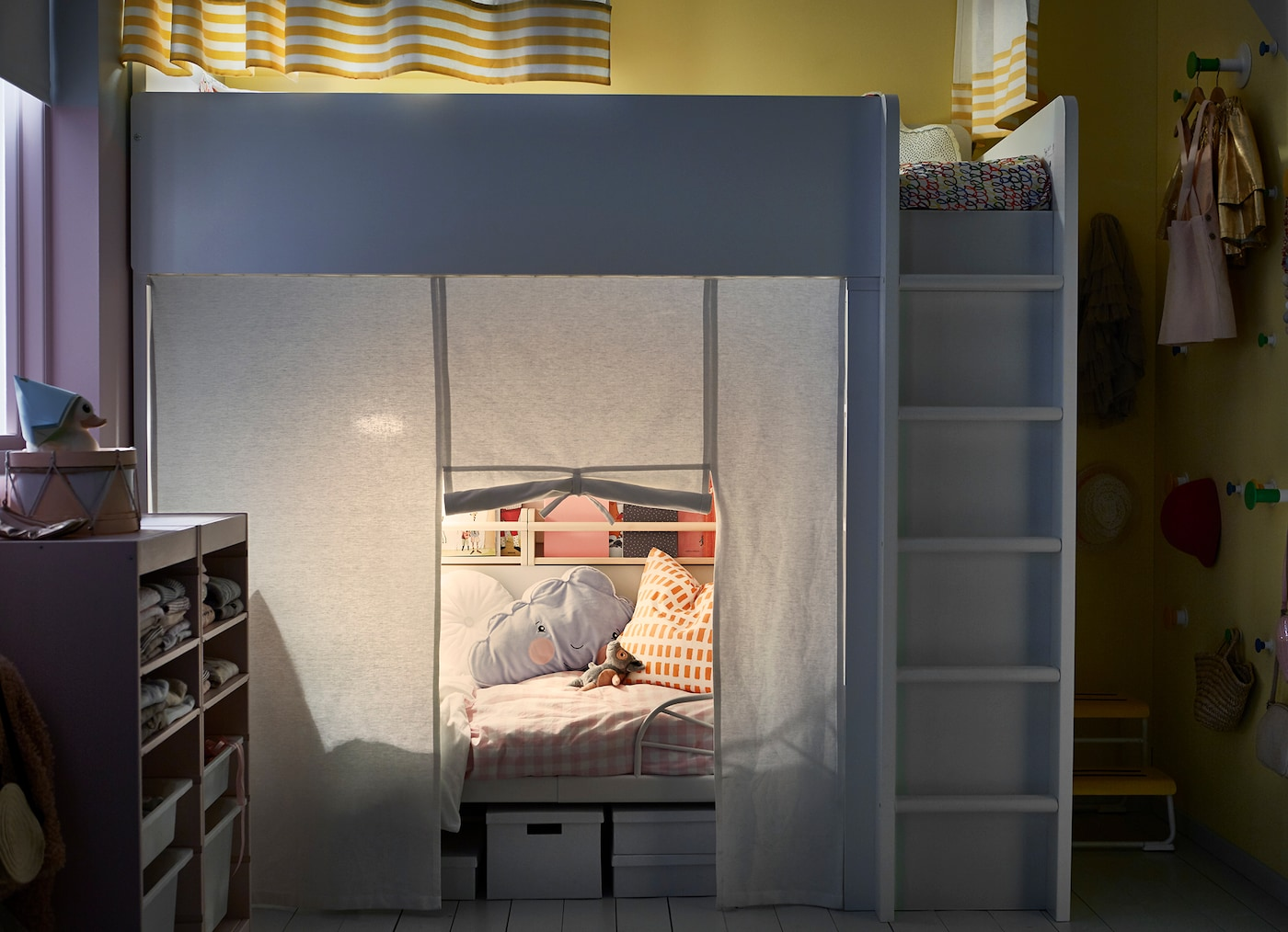 Ikea Etagenbett Vorhang : Hochbett vorhang halb ikea u nslexchange