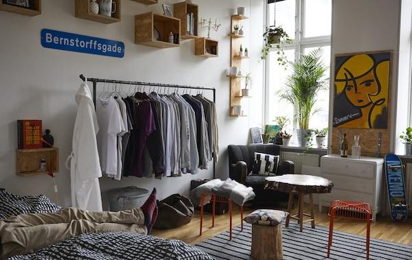 Gestaltungstipps für die Einzimmerwohnung - IKEA