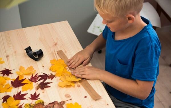 Basteln Im Herbst Mit Laub Ikea