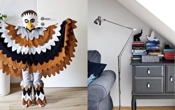 Drei-Zimmer-Wohnung für 4-köpfige Familie einrichten - IKEA