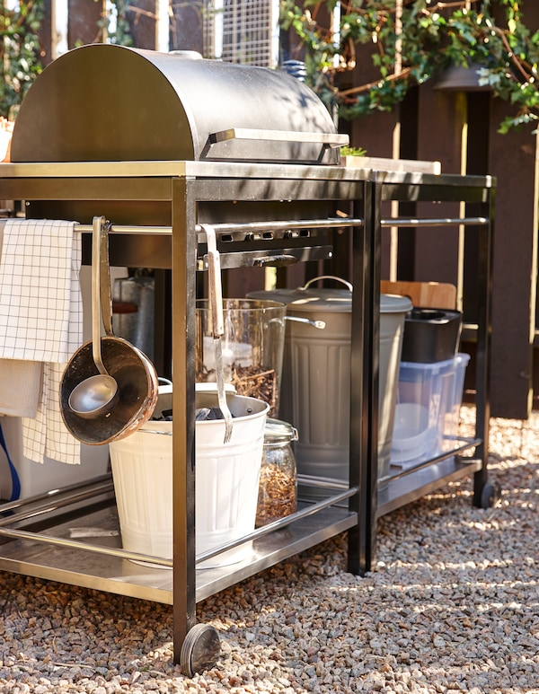 Outdoor Küche Kochen Im Freien Ikea