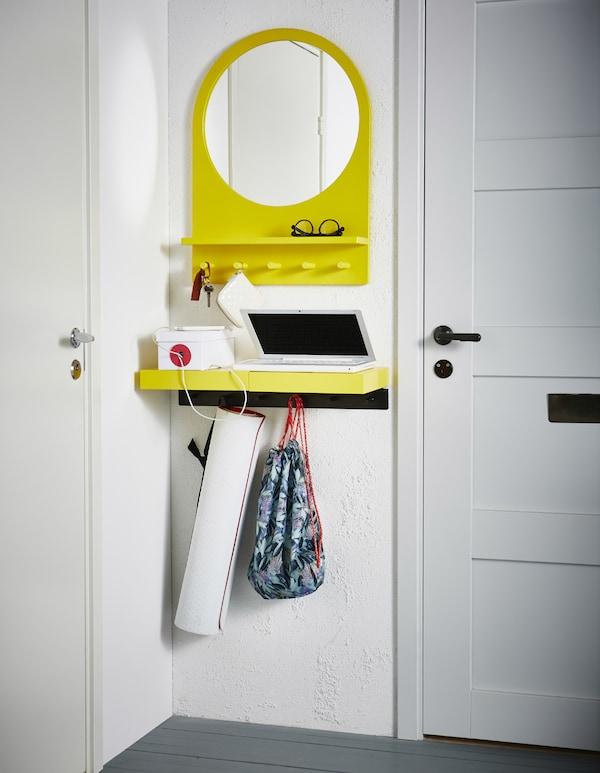 bereiche nutzbar machen mehr platz ikea. Black Bedroom Furniture Sets. Home Design Ideas