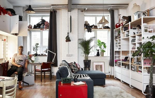 Multifunktionale 1-Raum Wohnung: Tipps & Tricks - IKEA