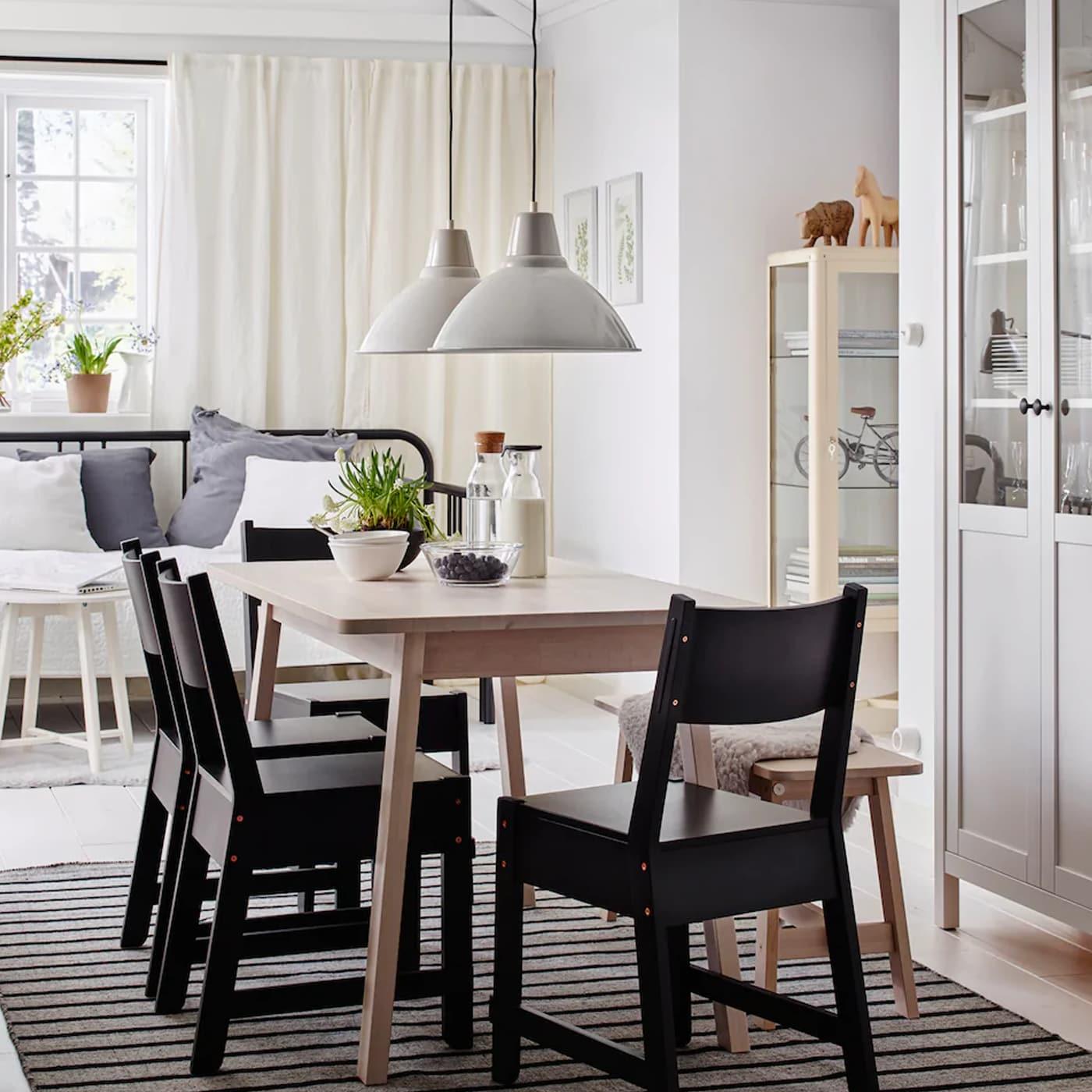 essen und g ste bewirten im skandinavischen stil ikea. Black Bedroom Furniture Sets. Home Design Ideas