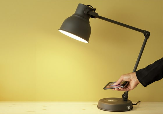 Ein neuer Maßstab für das induktive Laden: Die HEKTAR Tischlampe.