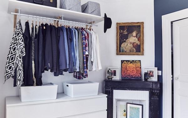 Ideen Fur Die Aufbewahrung Von Kleidung Ikea