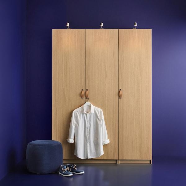 Ein Planer, mit dem du deinen PAX Kleiderschrank gestalten kannst.