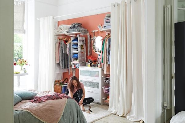 Offener Kleiderschrank Tipps Fur Mehr Ordnung Ikea
