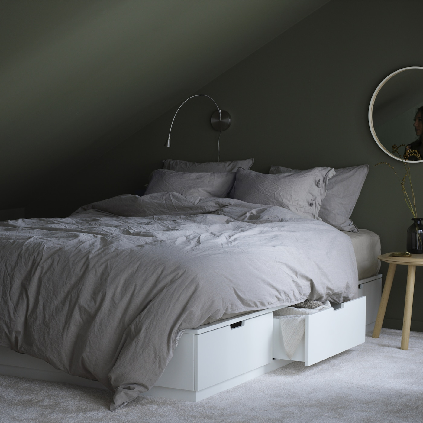 f r ein traumhaftes schlafzimmer ikea. Black Bedroom Furniture Sets. Home Design Ideas