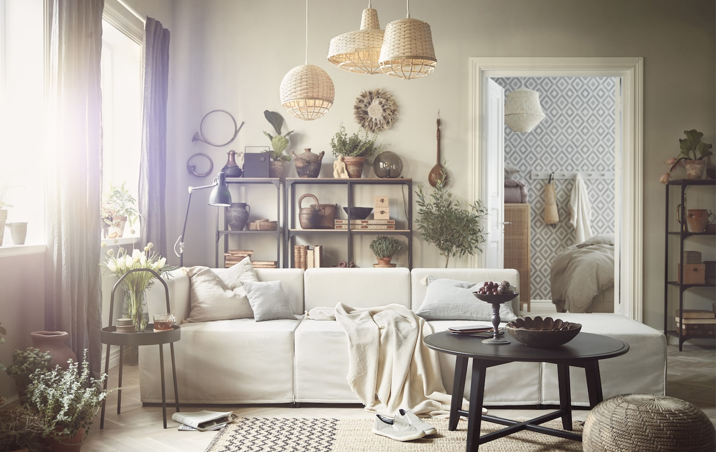 einrichtung mit naturmaterialien ikea ikea. Black Bedroom Furniture Sets. Home Design Ideas