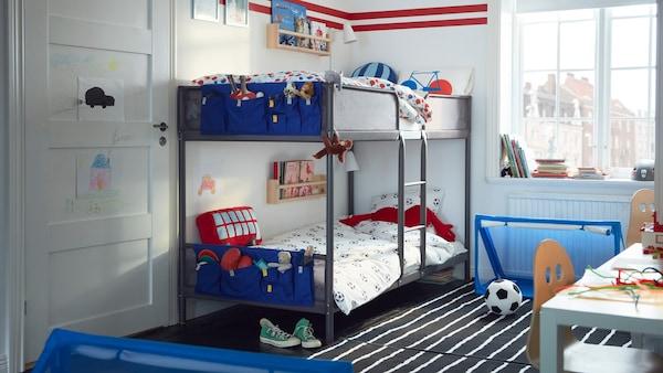 Eine Galerie inspirierender Baby- und Kinderzimmer voller toller Einrichtungsideen und vielem mehr.