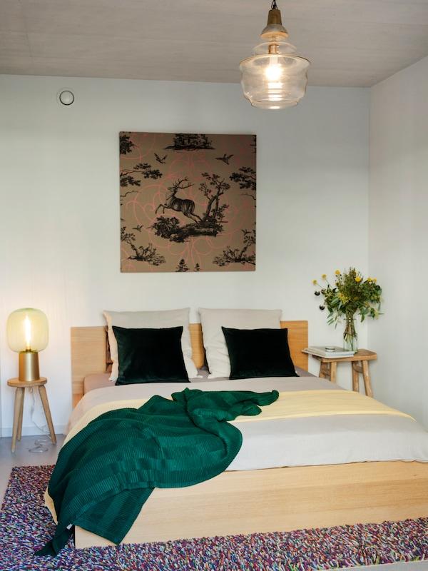 Eine gemütliches Schlafzimmer ist wichitg für erholsame Nächte