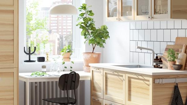 Eine robuste Küche von zeitloser Qualität - IKEA Schweiz