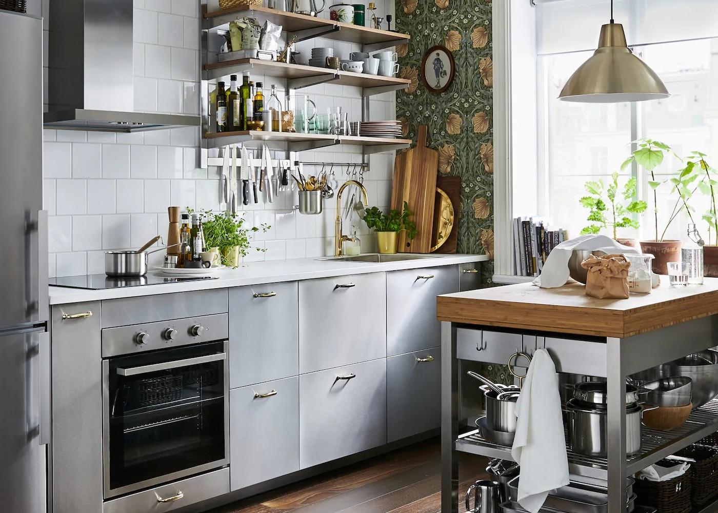 Eine Küche, die sofort zum Kochen einlädt - IKEA