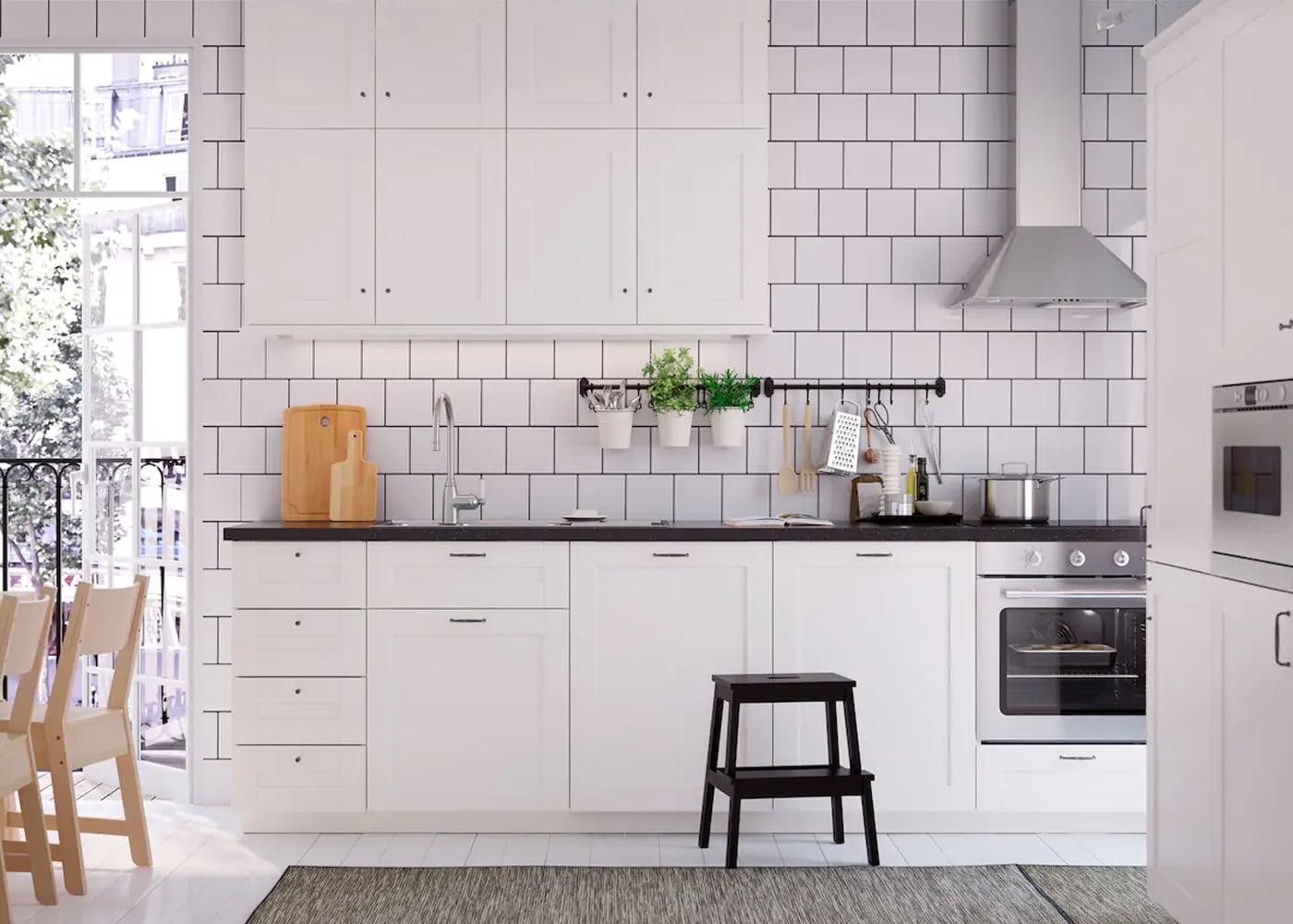 die wei geliebte k che ikea ikea. Black Bedroom Furniture Sets. Home Design Ideas