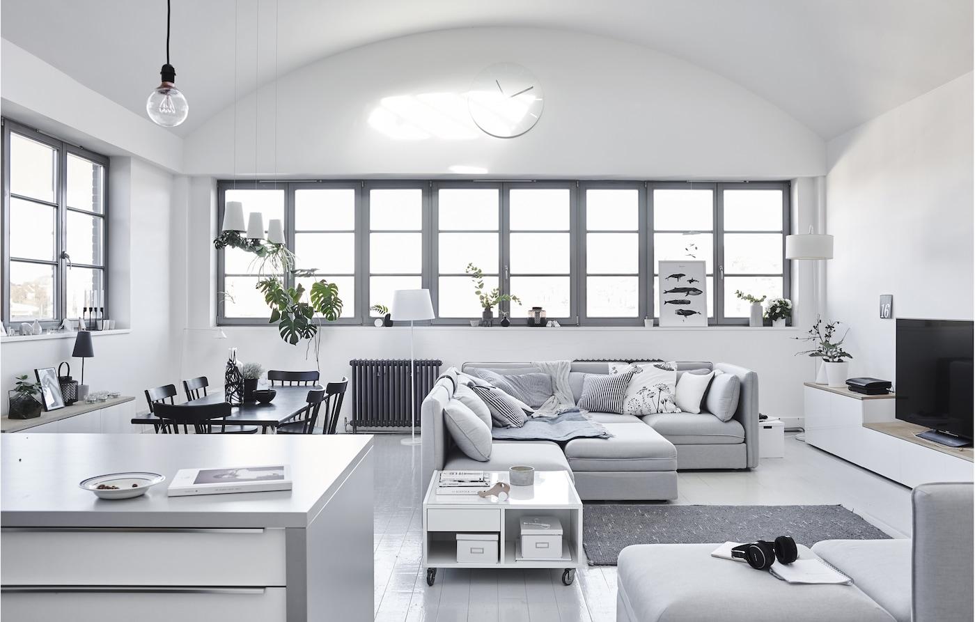 Cómo crear un hogar familiar minimalista ikea