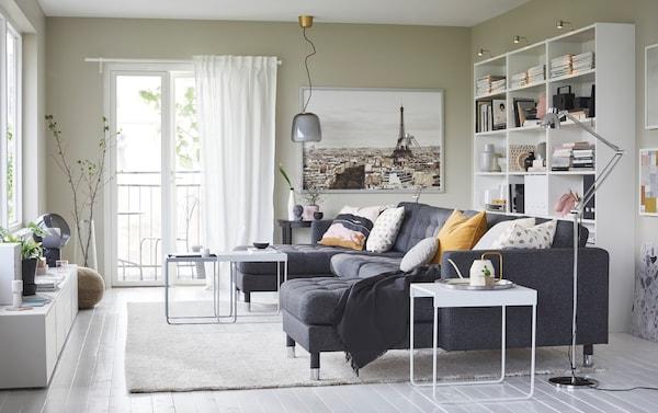 Un Sal 243 N Espacioso Para Toda La Familia Ikea