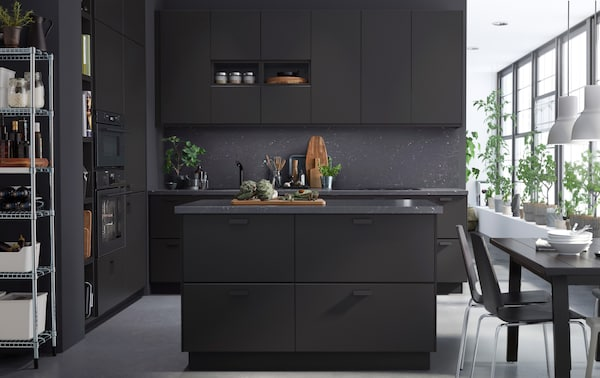 Elegante Kuche Nachhaltig Gestaltet Ikea