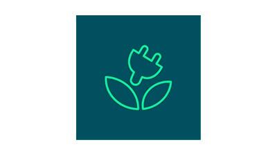 Elektřina Nazeleno logo.