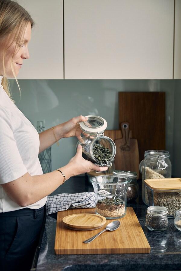 Ellen loves spending time in her kitchen.